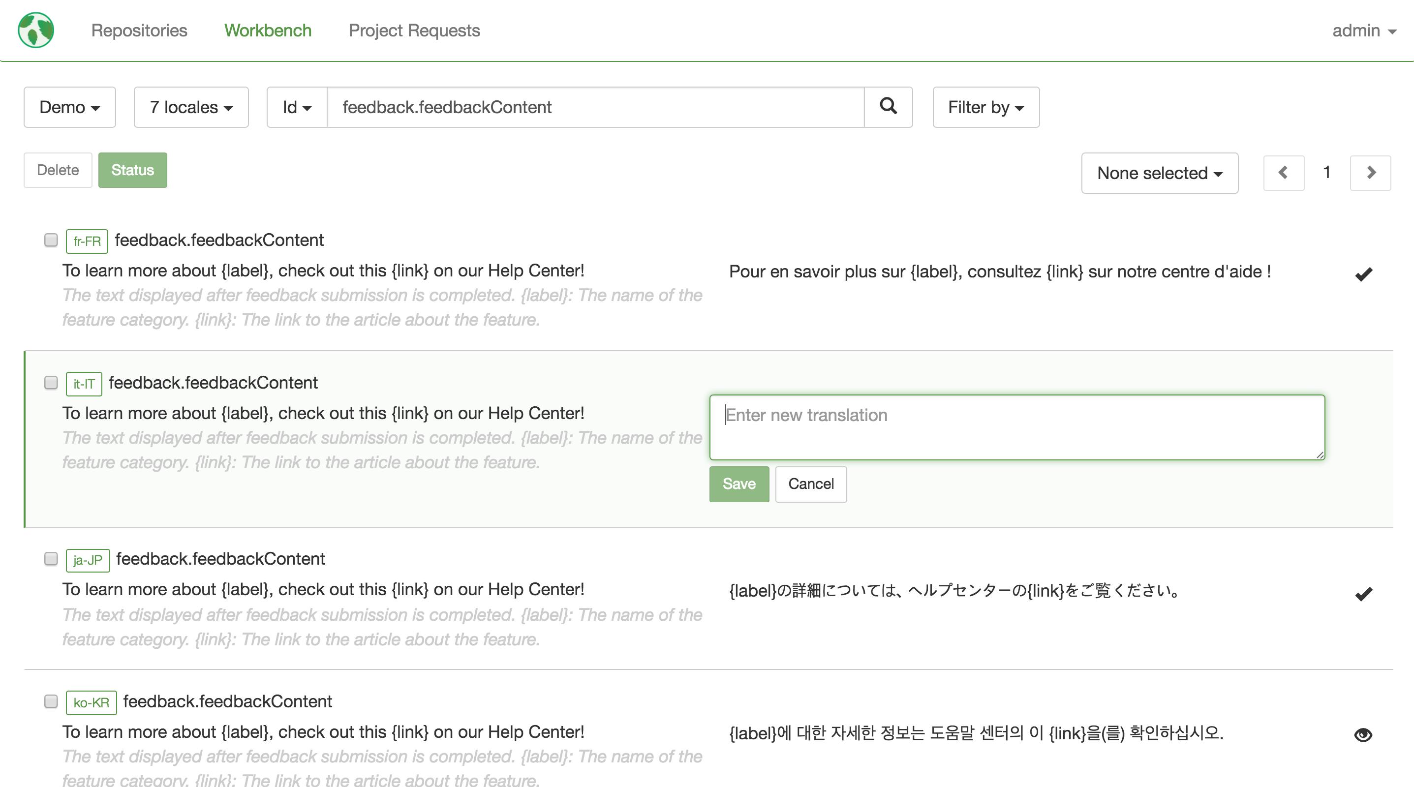 Mojito  Continuous Localization Platform